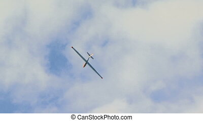 Virage glider - Glider flying in the beautiful sky.