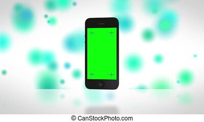 virages, smartphone, on.cool, fond