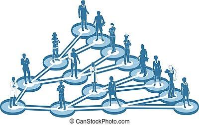 viral, conceito, marketing, negócio