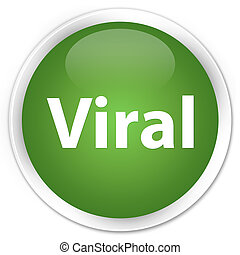 Viral premium soft green round button
