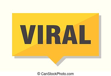 viral price tag - viral yellow square price tag