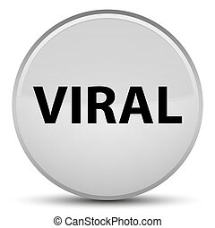 Viral special white round button
