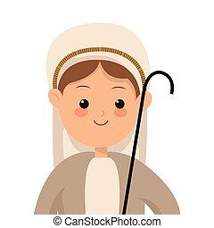 virgen maria, icono