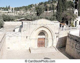 virgen, tumba, jerusalén, 2008