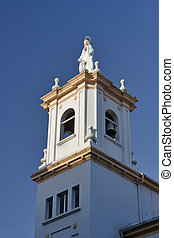 Church belfry of religious Claretians at Vilagarcia de Arosa