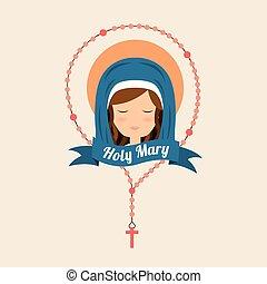 virgin design, vector illustration