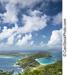 Virgin Gorda in the British Virgin Islands of the Carribean.