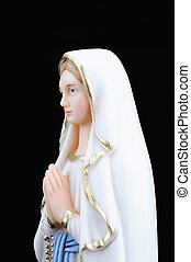 Virgin Mary - A statue of Virgin Mary