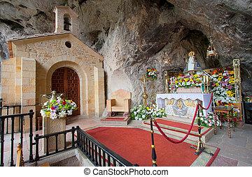 Virgin of Covadonga, Asturias, Spain
