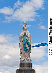 Virgin of Lourdes, France