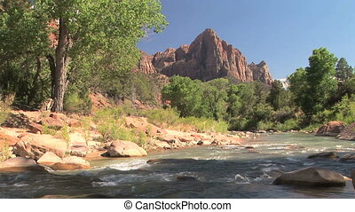 Zion - Virgin River, Zion National Park