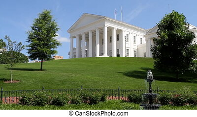 Virginia Capitol Building - Virginia capitol building in...