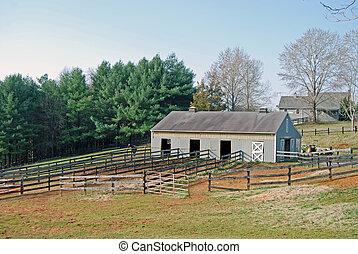 virginia, horsefarm