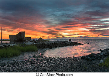 Virginia's Eastern Shore - Sunrise on the Eastern shore of ...