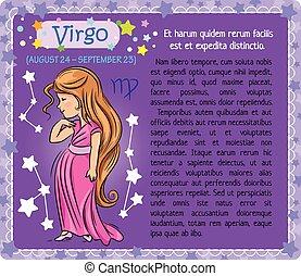 Virgo Zodiac kid