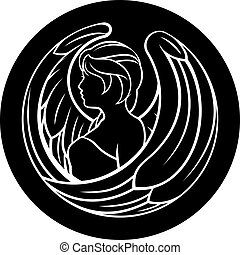 Virgo Zodiac Sign - A Virgo angel horoscope astrology zodiac...