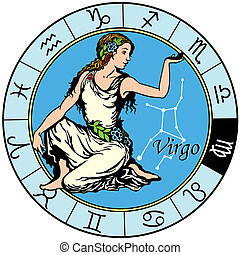 virgo zodiac - virgo astrological zodiac sign