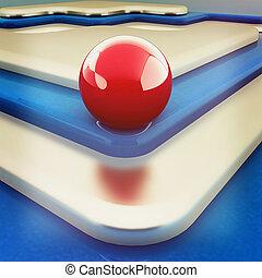 Virtual background. 3D illustration. Vintage style.