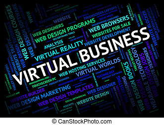 Virtual Business Shows Contract Out And Businesses - Virtual...