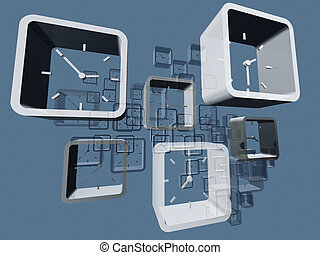 Virtual clocks