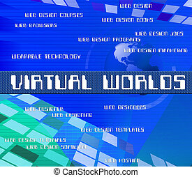 Virtual Outsource Indicates Contracting Earth And Worlds -...