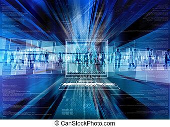 Virtual people in Virtual world - Digital people inside the...