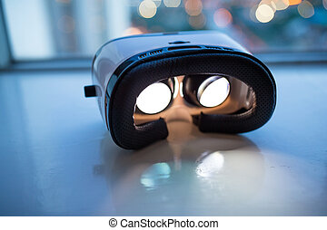 Virtual Reality device at indoor