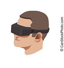 Virtual reality - This is a vector Virtual reality concept