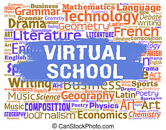 Virtual School Illustrations And Clip Art 6 010 Virtual School Royalty Free Illustrations Drawings And Graphics Available To Search From Thousands Of Vector Eps Clipart Producers