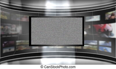 Virtual Set Background