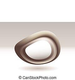 Virtual stone icon