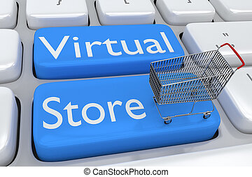 Virtual Store concept