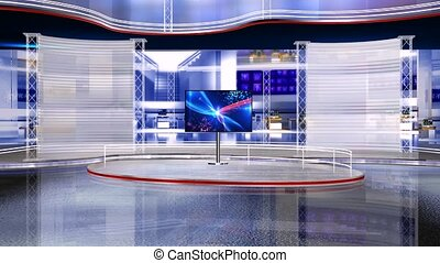 Virtual studio set 1