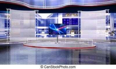 Virtual studio set 1