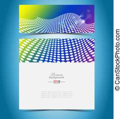 Virtual vector presentation gallery for creative needs