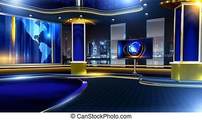 virtualset - Virtual set studio for chroma footage Realize...