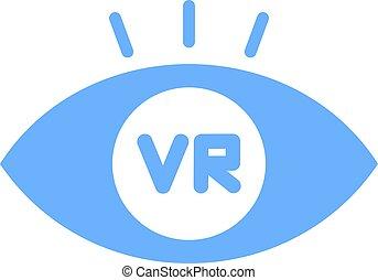 virtuel, symbole, réalité