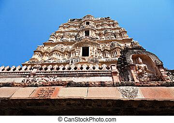 virupaksha, szczegół, świątynia