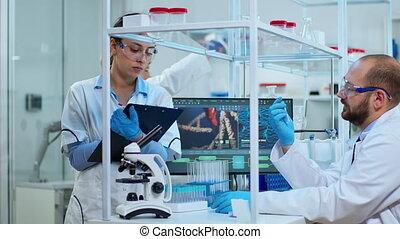 virus, équipe, développer, scientifiques, agains, biochimie, nouveau, drogues, divers