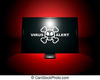 virus, allarme