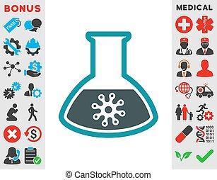 Virus Analysis Icon