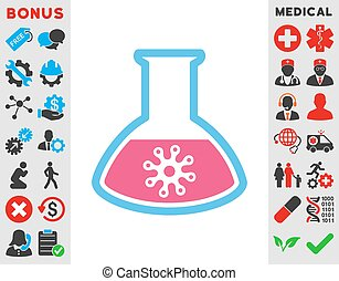 Virus Analysis Icon