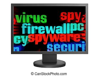 Virus and firewall concept