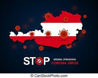 virus around Austria
