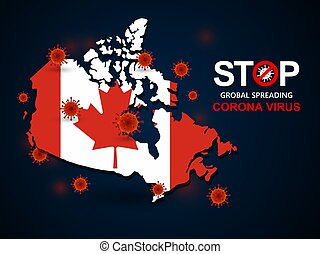 virus around Canada