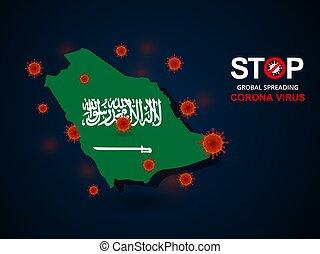 virus around Saudi Arabia - Corona virus covid-19 in Saudi ...