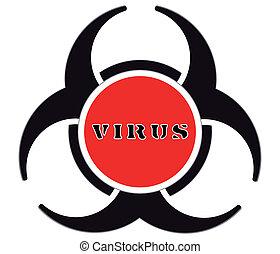 virus, avvertimento