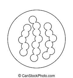 virus bacteria icon