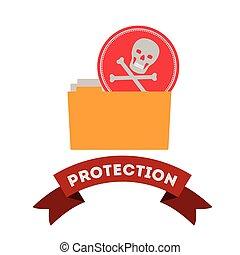virus bescherming, ontwerp