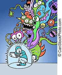 virus bescherming